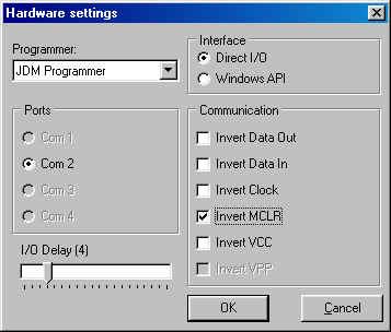 IC-Prog Prototype Programmer, programs : 12C508, 16C84
